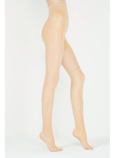 Penti Kadın Açık Ten Rengi Silüet Külotlu Çorap PCDP125C15SK Ten